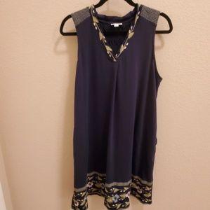 J Jill Sleeveless Dress